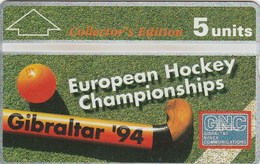 Gibraltar - European Hockey Championship Collectors Ed. - Gibraltar