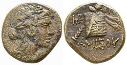 Pontos Amisos 7,69 G (Malloy 26b à C; BMC Black Sea 1202-1206) - Grecques