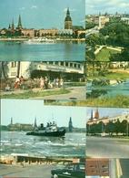 """Latvia 1963 (Soviet Occupation). Set Of 16 Postcards """"Riga"""". - Latvia"""