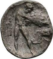 Calabre Tarente 0,88 G (Vlasto 1366 à 68 Ou 1378 Car Sans Monogramme) - Grecques