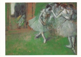 Postcard A Group Of Dancers Edgar Degas National Gallery Of Scotland My Ref  B23234 - Paintings