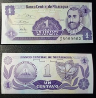 Nicaragua 1 Centavos 1991 P-167 UNC - Nicaragua