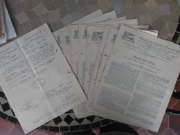 Q335B-ACUMULACION DOCUMENTOS AÑOS 1930 BARCOS BUQUES CARTAGENA EXPORTACION GRANADAS CARTAGENA MURCIA A HAMBURGO EN INGLA - Espagne