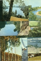"Latvia 1963 (Soviet Occupation). Set Of 16 Postcards ""Views Of Latvia"". - Latvia"