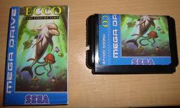ECCO THE TIDES OF TIME REPRO CLON CLONE COMPATIBLE SEGA MEGA DRIVE MEGADRIVE GENESIS CARTUCHO CARTRIDGE - Sega