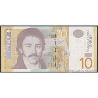 TWN - SERBIA 54a - 10 Dinara 2011 Prefix AA UNC - Serbia
