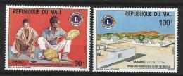 "Mali YT 234 & 235 ""  Lion's International "" 1975 Neuf** - Mali (1959-...)"
