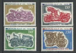 "Mali YT 241 à 244 "" Anciennes Automobiles "" 1975 Neuf** - Mali (1959-...)"