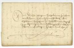 WALTERSHAUSEN Thüringen 1559 Nach WEIMAR Herzog Johann Friedrich II Regetanz - Allemagne