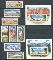 241 KIRGHIZSTAN 1995 - Yvert 58/65 BF 10/11 - Parc National Du Monde - Neuf ** (MNH) Sans Trace De Charniere - Kirghizistan