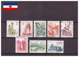 Yougoslavie 1958 - Oblitéré - Technique Et Architecture - Michel Nr. 854-858 861 865 867 (yug445) - 1945-1992 Sozialistische Föderative Republik Jugoslawien