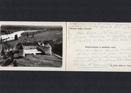 VP13.536 - APREMONT X PARIS  - Noblesse - Autographe De Mme E. SCHNEIDER Né A. De RAFELIS De SAINT - SAUVEUR - Autographs