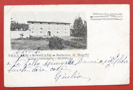 Cartolina Barberino Di Mugello - Villa Camoggiano - 1936 - Firenze