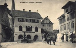 Beromünster Postkutsche - LU Lucerne