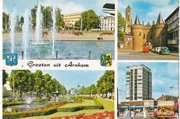 Nederland - Arnhem - Collagekaart - Meerdere Afbeeldingen - Kleur/color - Gebruikt - Arnhem