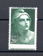 FRANCE N°730 - Varieties: 1945-49 Mint/hinged