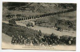 MILITARIA Campagne D'Orient 1914-1917 Ambulance CROIX ROUGE   Relève De Troupes Anglaises Pres De X -    /D25-2018 - War 1914-18