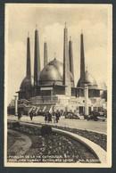 +++ CPA - BRUSSEL - BRUXELLES - Exposition 1935 - Pavillon De La Vie Catholique  // - Expositions Universelles