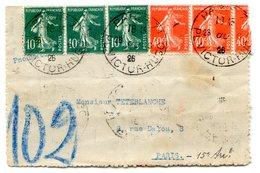 France - Lettre Pneumatique 1926 - Paris 71 - (B1225) - Marcophilie (Lettres)
