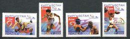 241 KIRGHIZSTAN 2000 - Yvert 155/58 - J O Sydney Lutte Boxe ... - Neuf ** (MNH) Sans Trace De Charniere - Kirghizistan