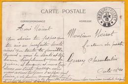 1915 - Carte Pour La Patrie - CP FM Du Secteur Postal 88 Vers Gevrey Chambertin, Côte D'Or - Trésor Et Poste - 1. Weltkrieg 1914-1918