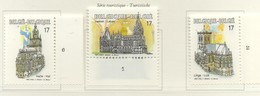 PIA - BELGIO  - 1997 : Turismo - Chiese E Basiliche - (Yv  2712-14) - Cristianesimo