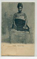 CONGO Carte RARE  27  Femme ACRA En Costume Traditionnel  1900 Dos Non Divisé -- D25-2018 - Non Classés