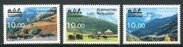 241 KIRGHIZSTAN 2001 - Yvert 177 D/F - Montagne - Neuf ** (MNH) Sans Trace De Charniere - Kirghizistan