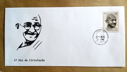BRAZIL FDC GANDHI Stamps India Mahatma Gandhiji 2018 - Brazil