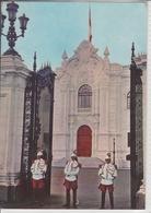 PERU  LIMA GUARDIA DE PALACIO  USED NICE STAMP WITH OVERPRINT - Pérou