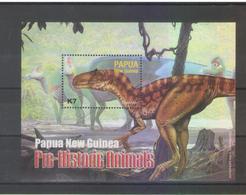 Papua New Guinea   2004 Dinosaurs Miniature Sheet MNH - Preistorici