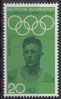 Germania 1968 Sc. B435 Rudolf Harbig Atletica Mezzofondista Bronzo Oimpiadi Berlino 1936 Nuovo MNH - Estate 1936: Berlino