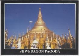 MYANMAR BURMA   SHWEDAGON PAGODA   USED  NICE STAMP - Myanmar (Burma)