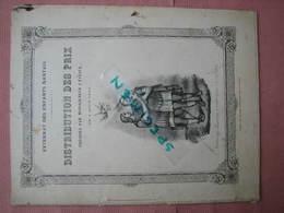 NANTES 1866 Externat Des EnfantsNantais Distribution Des Prix 42 Pages 21X27 - Diplômes & Bulletins Scolaires