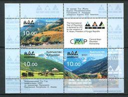 241 KIRGHIZSTAN 2001 - Yvert BF 24 A - Montagne - Neuf ** (MNH) Sans Trace De Charniere - Kirghizistan