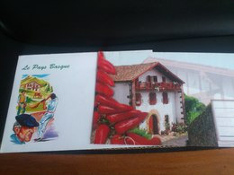 Lot De 2 Enveloppes Du Pays Basque - Autres Collections