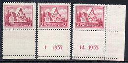 CZECHOSLOVAKIA 1935 Battle Of Arras 1Kc With Labels **/*.  Michel 336 - Czechoslovakia