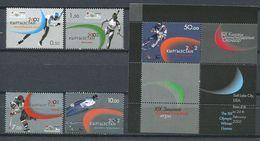 241 KIRGHIZSTAN 2002 - Yvert 178/81 BF 25 - J O Hiver De Salt Lake City - Neuf ** (MNH) Sans Trace De Charniere - Kirghizistan