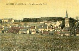 MENETOU SALON(CARTE EN COULEUR TOILEE) - Autres Communes