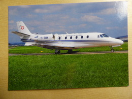 SWISS AIR FORCE  CESSNA 560XL CITATION    T-784 - 1946-....: Ere Moderne