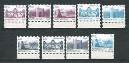 241 KIRGHIZSTAN 2002 - Yvert 214/22 - Serie Courante Edifice - Neuf ** (MNH) Sans Trace De Charniere - Kirghizistan