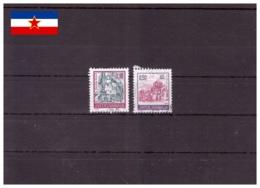 Yougoslavie 1994 - Oblitéré - Cloîtres - Michel Nr. 2686-2687 Série Complète (yug531) - 1992-2003 République Fédérale De Yougoslavie