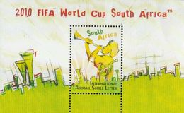South Africa RSA 2009 FIFA World Cup 2010 Football Game Soccer Sports Music Games S/S Stamp MS  MNH SG 1726 - Music