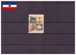 Yougoslavie 1959 - Oblitéré - Enfance - Fleurs - Poissons - Surtaxe Obligatoire - Michel Nr. 23 Série Complète (yug537) - Bienfaisance