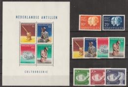 Ned Antillen 1962 Year - Complete - MNH/**/Postfrisch - Curaçao, Nederlandse Antillen, Aruba