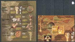 241 KIRGHIZSTAN 2003 - Yvert 229/36 BF 28 - Archeologie - Neuf ** (MNH) Sans Trace De Charniere - Kirghizistan