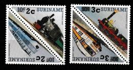 Suriname 1991 Zegels 1985 Met Opdruk MNH/**/Postfris - Suriname