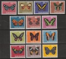 Suriname 1972 Luchtpost Vlinders, Papillons, Mariposas. Schmetterlinge  MNH/**/Postfris - Suriname ... - 1975