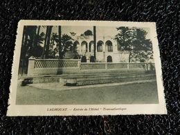 Laghouat, Entrée De L'hôtel Transatlantique  (J6) - Laghouat