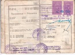 3362   SLOVENIJA   BMW   PROMETNO DOVOLJENJE  1939 - Motos